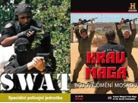 2x DVD Krav Maga + SWAT -  papírová pošetka