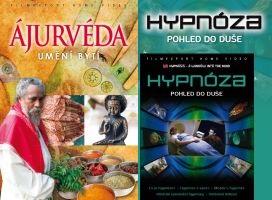 2x DVD Ájurvéda + Hypnóza - papírová pošetka
