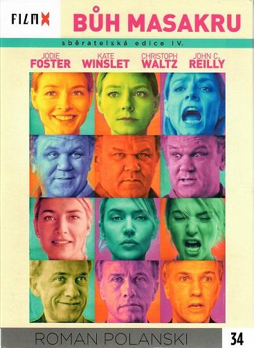 Bůh masakru DVD FilmX 34