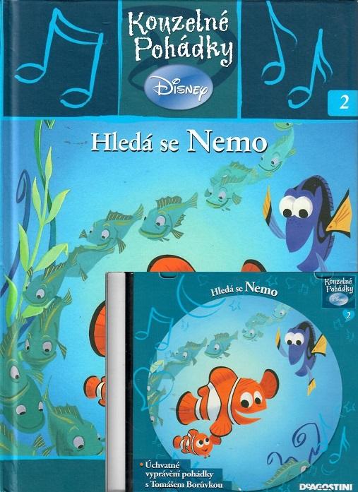 Kouzelné pohádky Disney 2.  - Hledá se nemo + CD