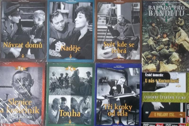 Kolekce starý český film 38. - 6DVD + 3DVD dárek
