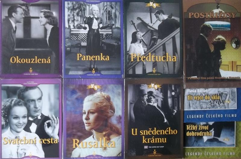 Kolekce starý český film 37. - 6DVD + 3DVD dárek