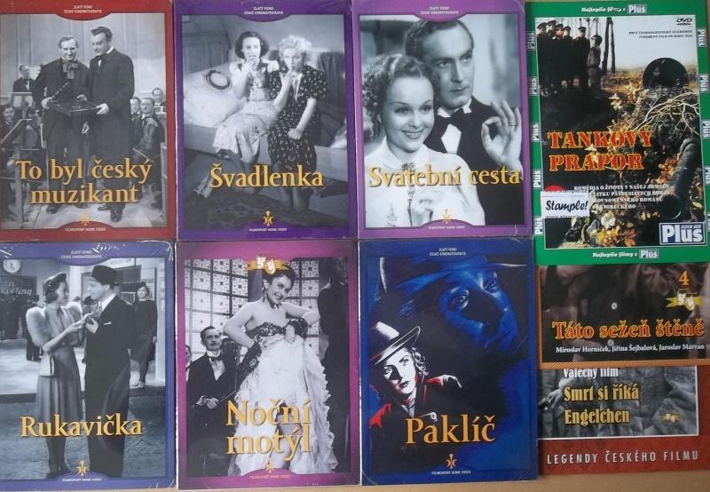 Kolekce starý český film 36. - 6DVD + 3DVD dárek