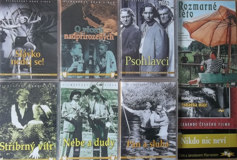 Kolekce starý český film 34. - 6DVD plast + 3DVD dárek