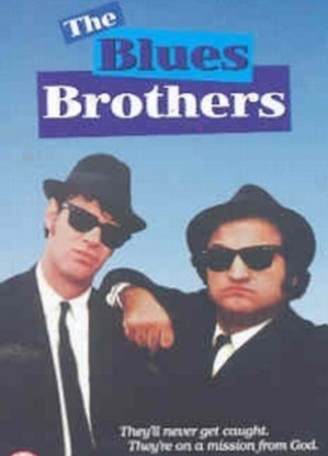 The Blues Brothers DVD plast