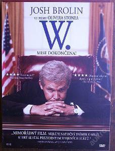 W. Mise dokončena - DVD dárková obálka