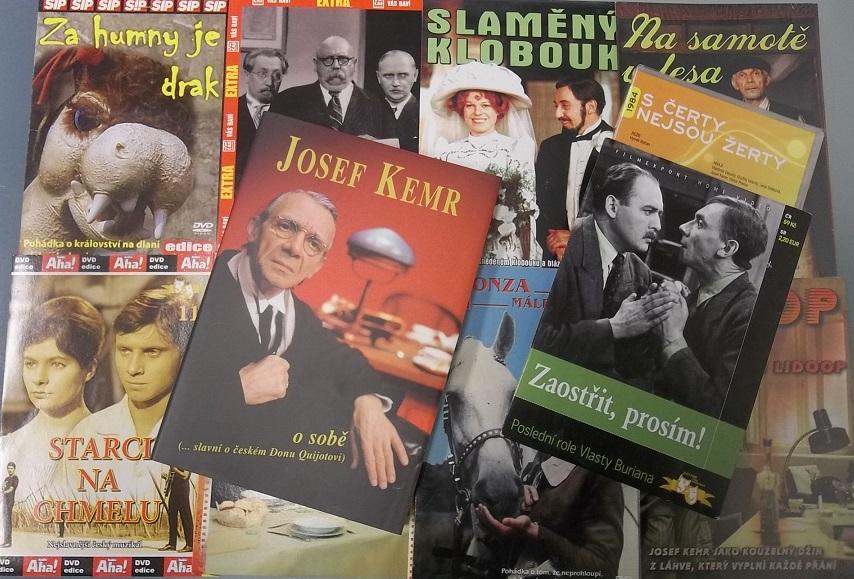 Kolekce Josef Kemr ( 1x kniha + 10 DVD )