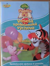 Velká kniha Medvídka Pú - Veselá společenská výchova DVD plast