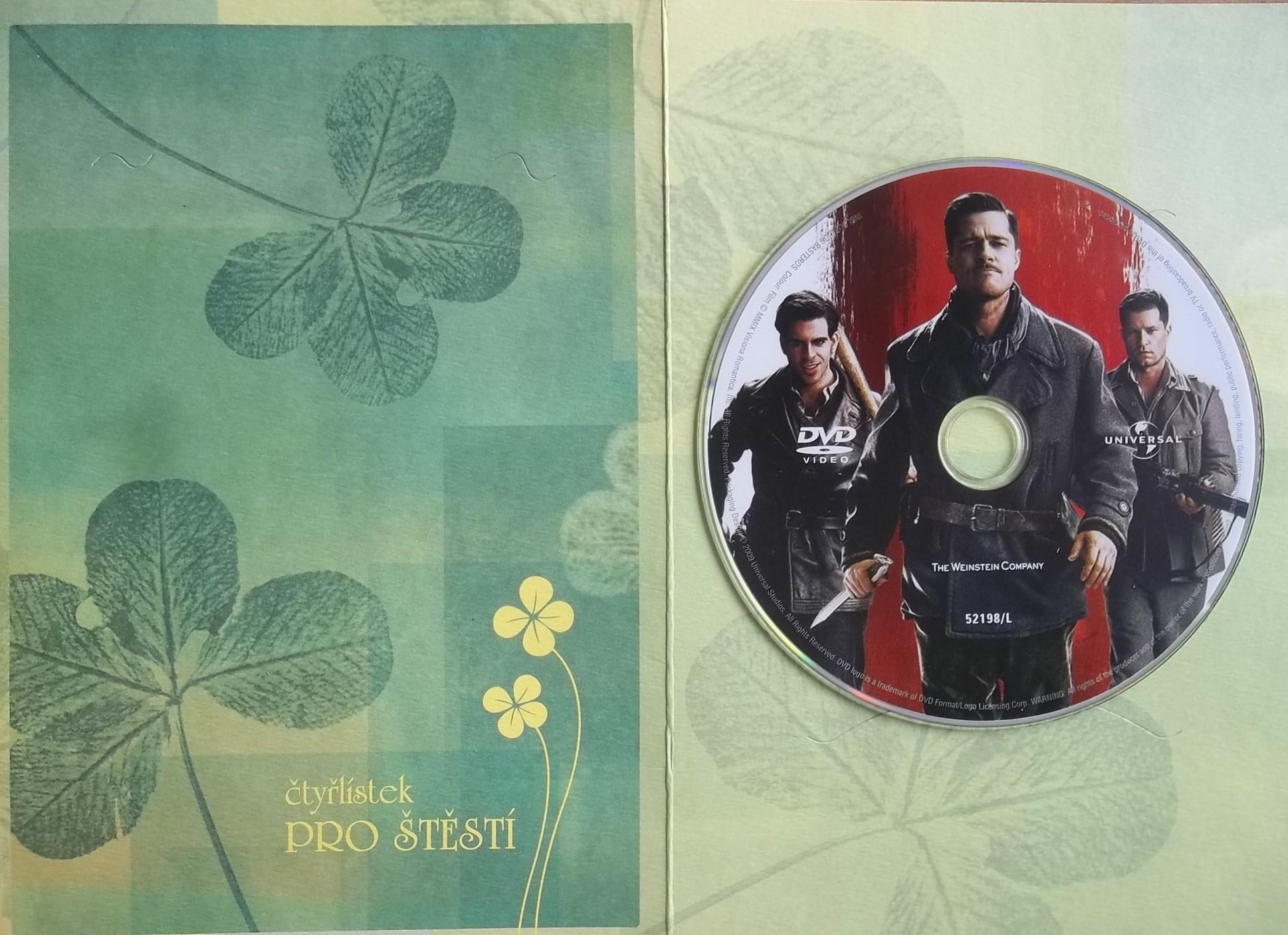 Hanebný parchanti DVD (dárková obálka)