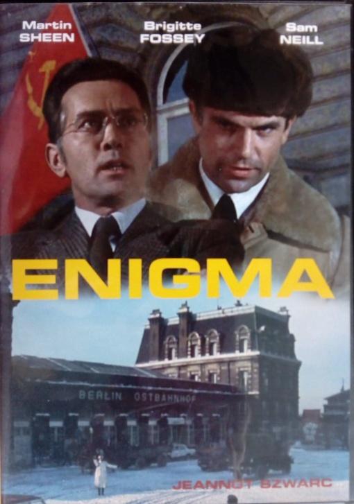 Enigma DVD plast (původní znění, cz titulky)