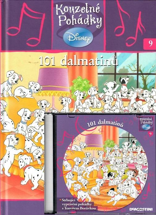 Kouzelné pohádky Disney 9. - 101 dalmatinů + CD
