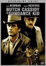 Butch Cassidy a Sundance Kid DVD plast