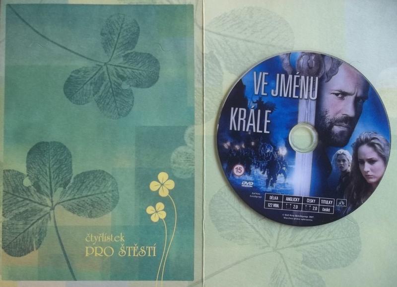 Ve jménu krále DVD (dárková obálka)