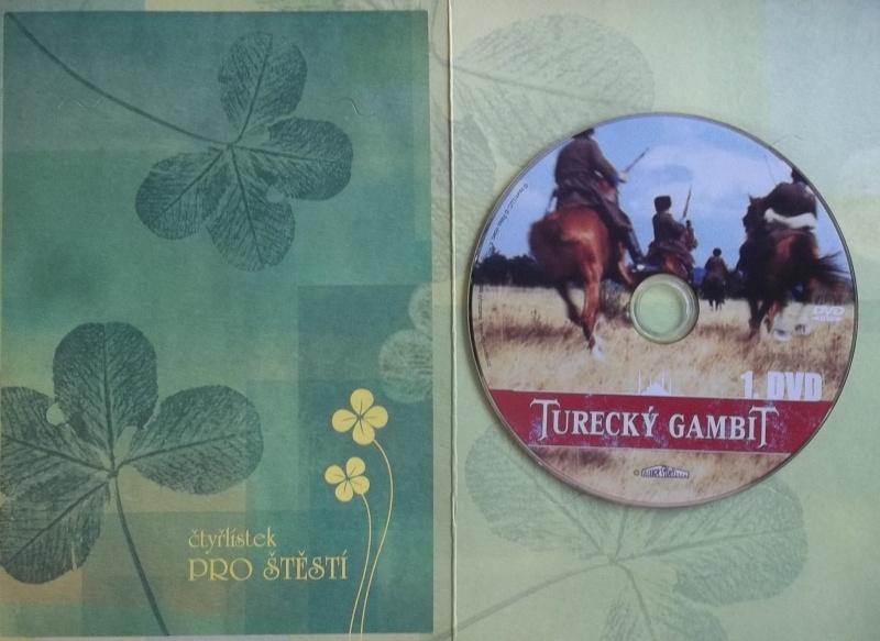 Turecký Gambit 1 - DVD (dárková obálka)
