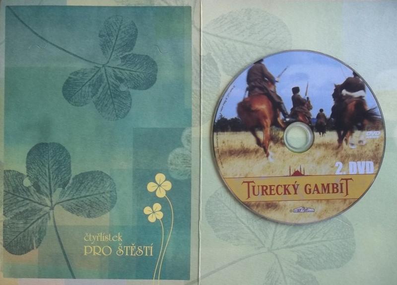 Turecký Gambit 2.- DVD (dárková obálka)