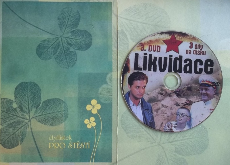 Likvidace 3 - (dárková obálka) DVD