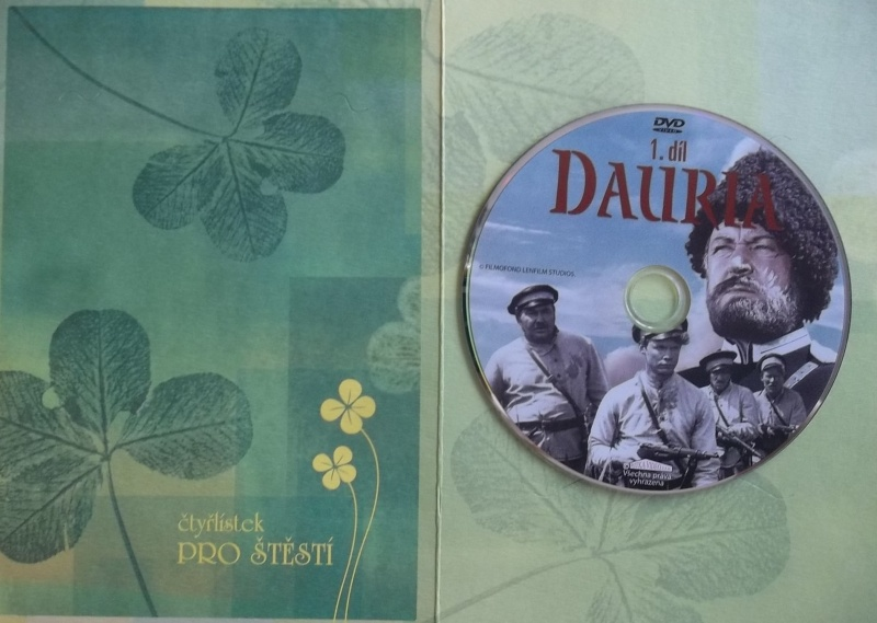 Dauria 1. (dárková obálka) DVD