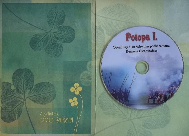 Potopa I. DVD (dárková obálka)