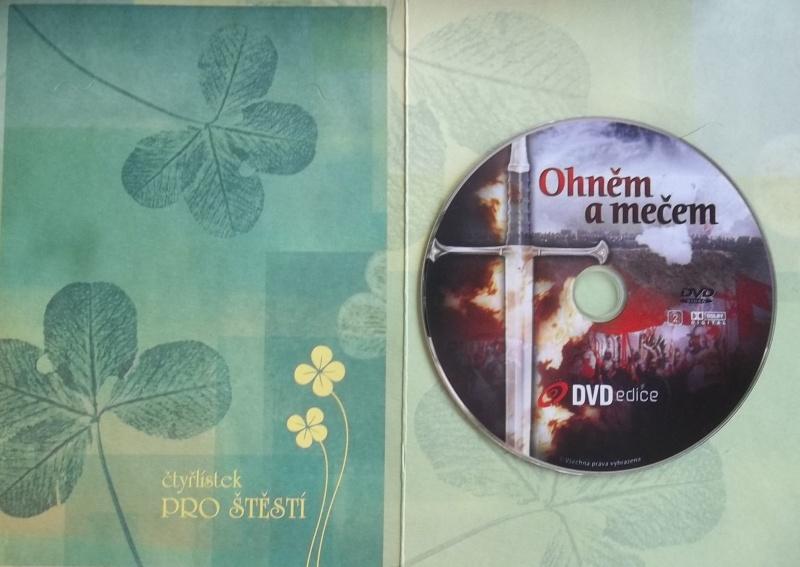 Ohněm a mečem (dárková obálka) DVD