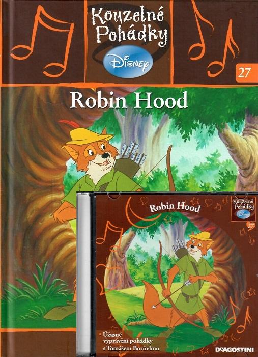 Kouzelné pohádky Disney 27. - Robin Hood + CD