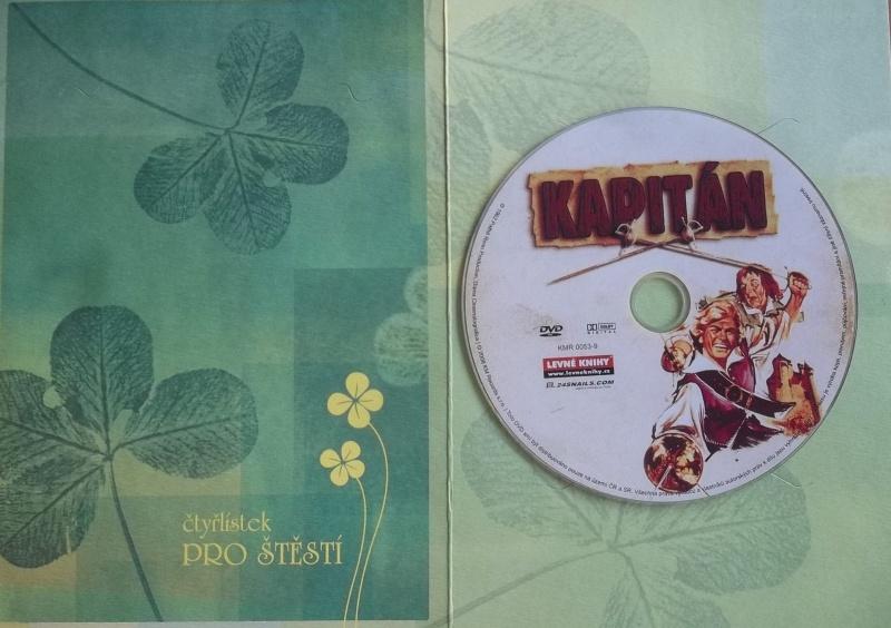 Kapitán (dárková obálka) DVD