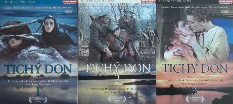 Kolekce Tichý Don 3DVD