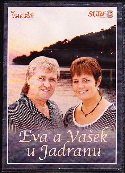 Eva a Vašek u Jadranu DVD plast