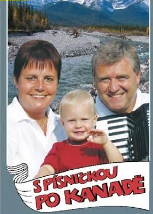 Eva a Vašek S písničkou po Kanadě DVD plast