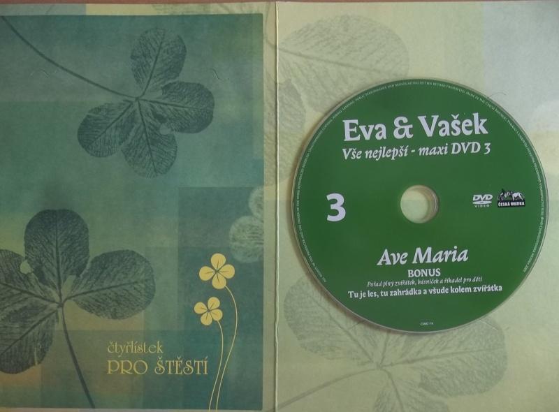 Eva a Vašek - Vše nejlepší - maxi DVD3 (dárková obálka)