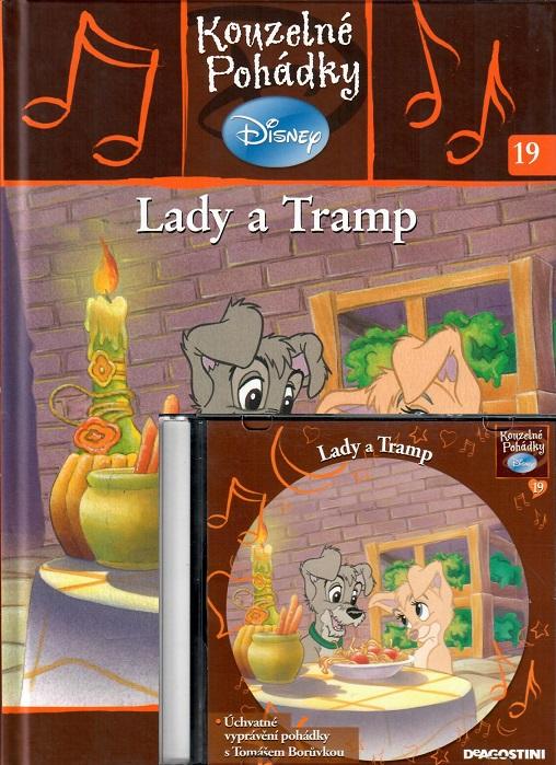 Kouzelné pohádky Disney 19. - Lady a Tramp + CD