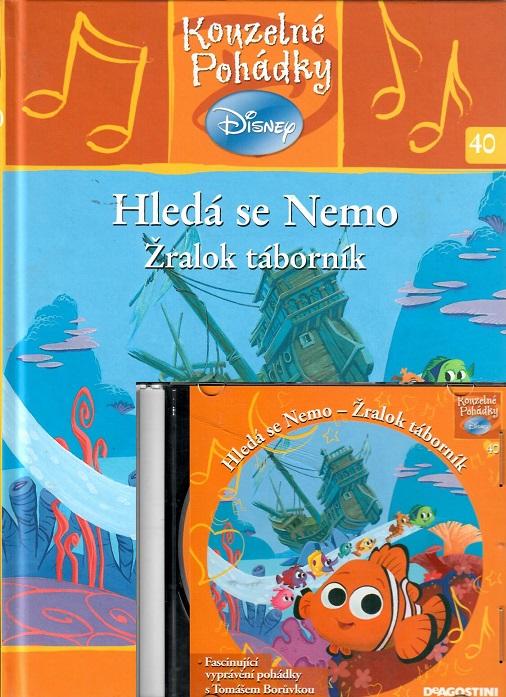 Kouzelné pohádky Disney 40. - Hledá se Nemo. Žralok táborník + CD