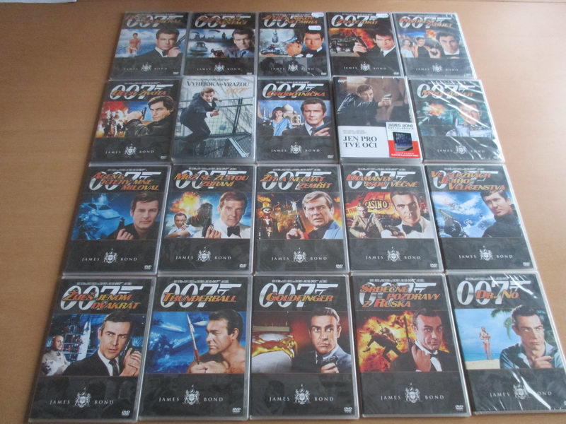 James Bond 007 kolekce 20 DVD