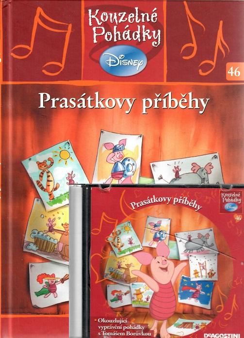 Kouzelné pohádky Disney 46. - Prasátkovy příběhy + CD