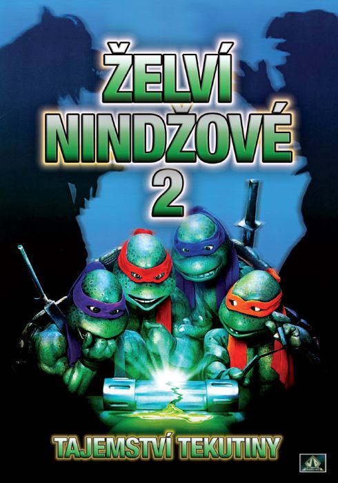 Želví Nindžové 2 - DVD plast