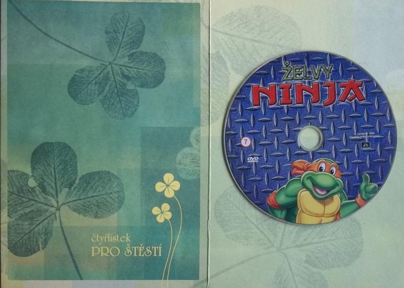 Želvy ninja DVD (dárková obálka)