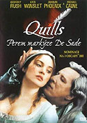 Quills - Perem markýze de Sade ( plast ) DVD