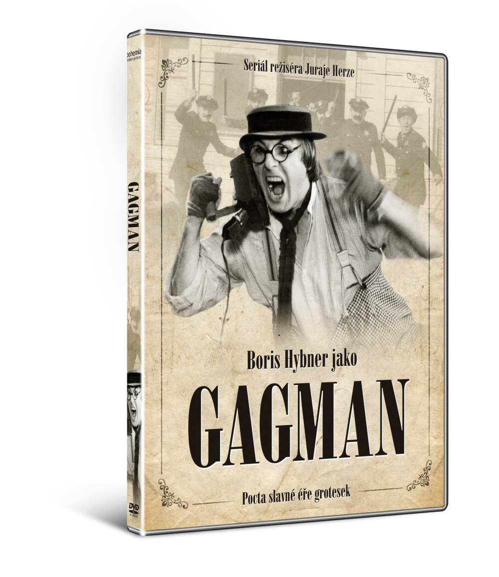 GAGMAN (kompletní šestidílný seriál) - DVD