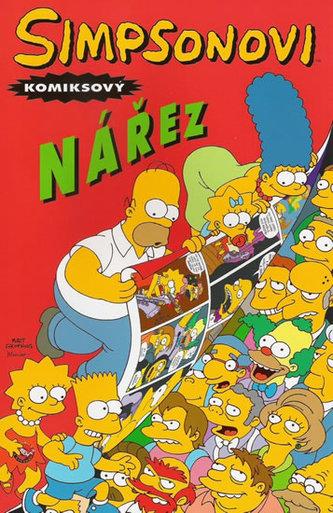 Simpsonovi komiksový nářez - Groening