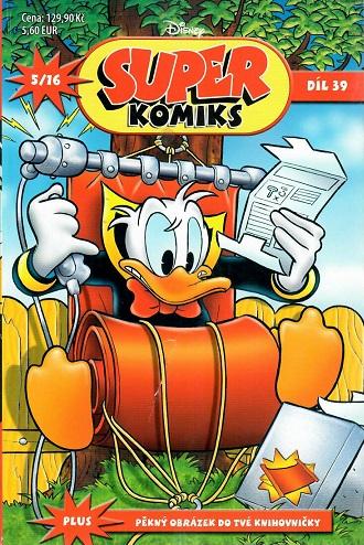 SUPER komiks Disney - Kačeří příběhy, díl 39