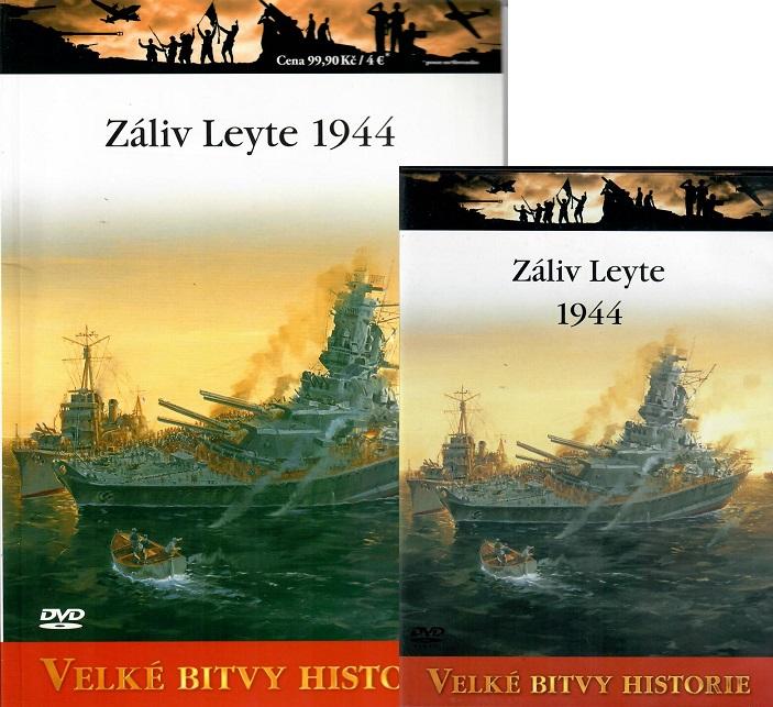 Velké bitvy historie 35 - Záliv Leyte 1944 (Časopis + DVD )