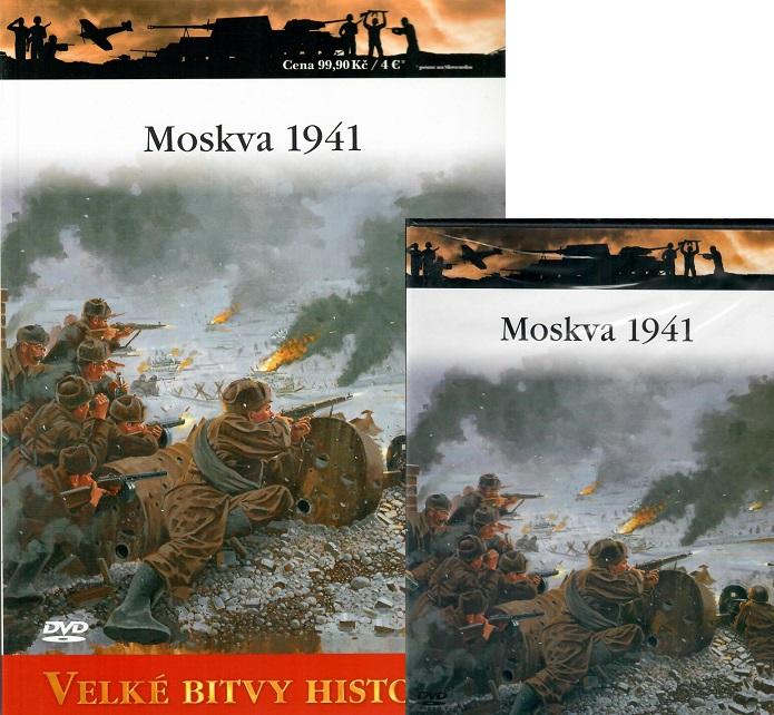Velké bitvy historie 49 - Moskva 1941 ( Časopis + DVD )