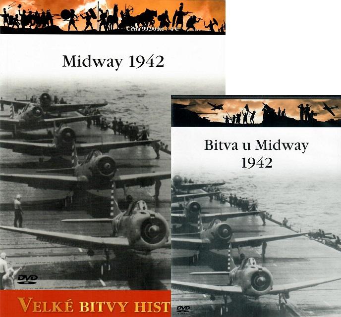 Velké bitvy historie 48 - Midway 1942 ( Časopis + DVD )