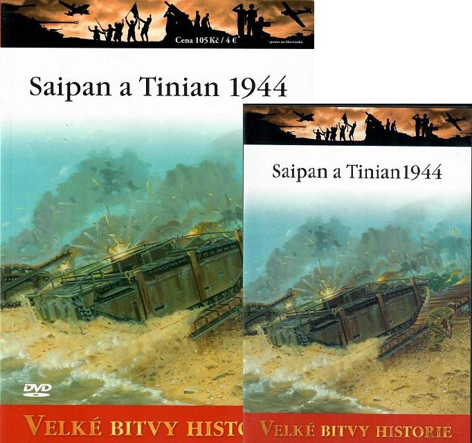 Velké bitvy historie 50 - Saipan a Tinian 1944 ( Časopis + DVD )