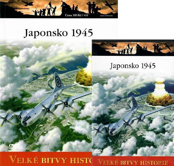 Velké bitvy historie 57 - Japonsko 1945 ( Časopis + DVD )