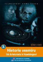 Historie vesmíru: Od Aristotela k Hawkingovi 3 - papírová pošetka DVD