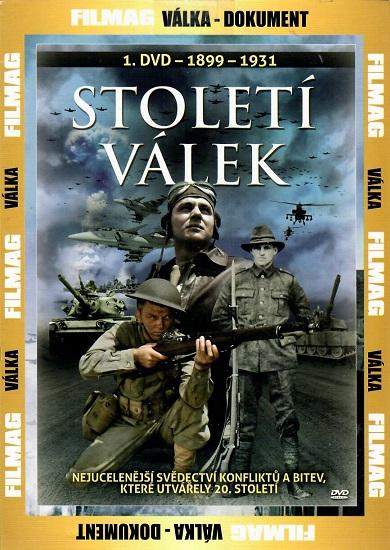 Století válek 1899 - 1931 ( 1 DVD )