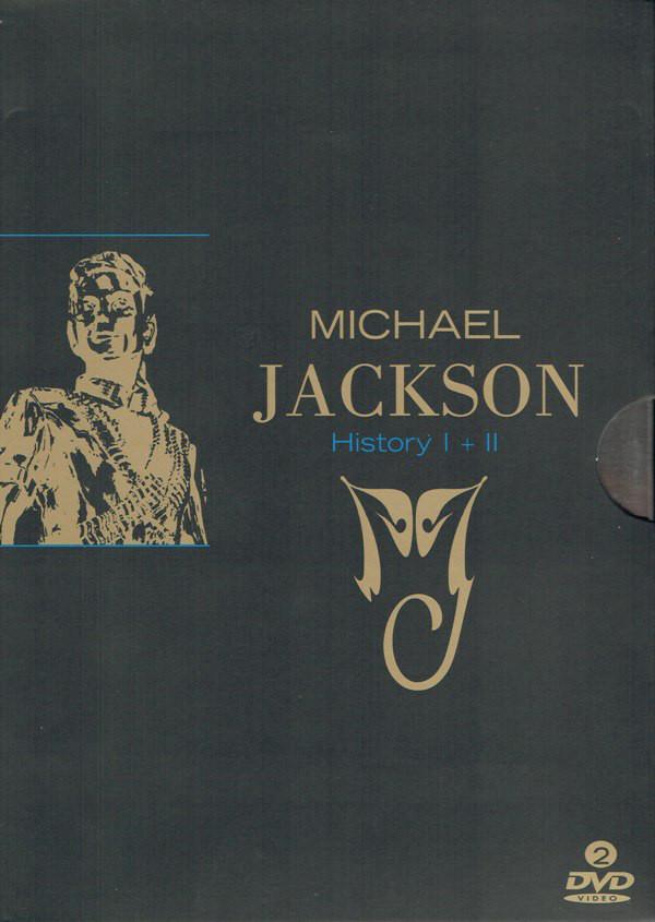Kolekce Michael Jackson: History I+II 2DVD (bazarové zboží)