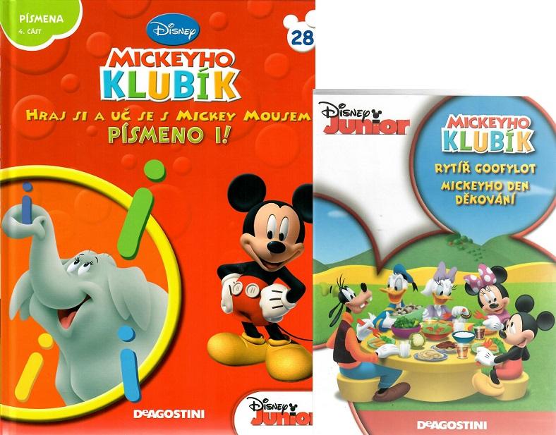 Mickeyho klubík 28 (DVD + kniha) - bazarové zboží