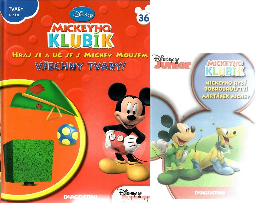 Mickeyho klubík 36 (DVD + kniha)
