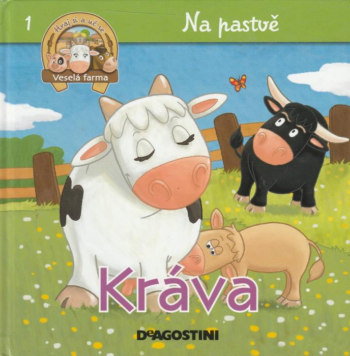 Na pastvě 1 - Kráva